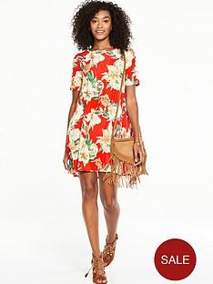 v-by-very-short-sleeve-jersey-swing-dress