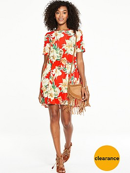 v-by-very-short-sleeve-jersey-swing-dress