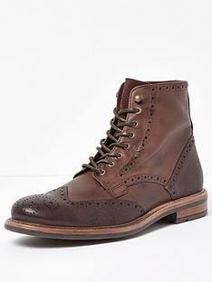 river-island-river-island-mens-leather-brogue-boot