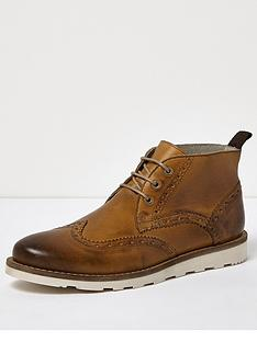 river-island-brogue-chukka-boot