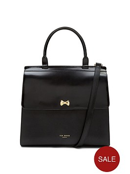 ted-baker-bow-top-handle-tote-bag-black