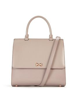 ted-baker-bow-top-handle-tote-bag-mid-purple