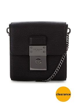 ted-baker-luggage-lock-leather-crossbody-bag