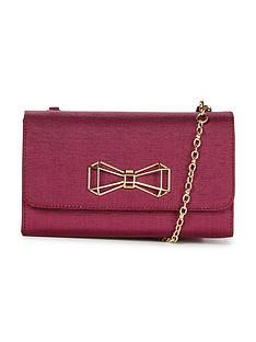 ted-baker-geometric-bow-clutch-bag