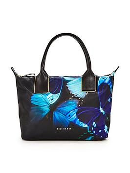 ted-baker-butterfly-print-nylon-tote-bag