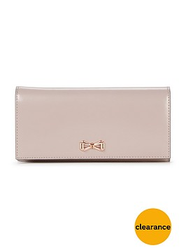 ted-baker-geometric-bow-leather-purse