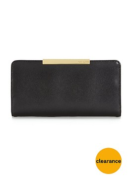 ted-baker-crosshatch-leather-purse