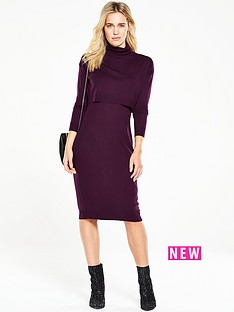 v-by-very-double-layer-midi-dress