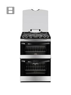 zanussi-zanussi-zck68300x-60cm-double-oven-dual-fuel-cooker