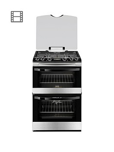 zanussi-zck68300x-60cm-double-oven-dual-fuel-cooker-stainless-steel