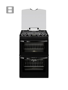 zanussi-zck68300b-60cm-double-oven-dual-fuel-cooker-black