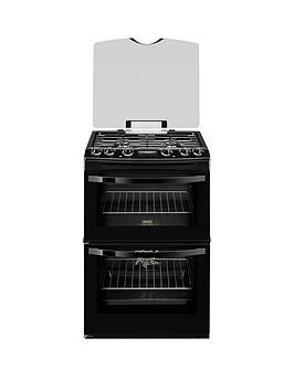 zanussi-zck68300b-60cm-double-oven-dual-fuel-cooker