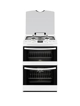 zanussi-zck68300w-60cm-double-oven-dual-fuel-cooker