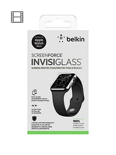 Belkin 38mm invisiglass TrueClear InvisiGlass for Apple Watch