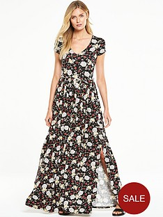 v-by-very-short-sleeve-maxi-dressnbsp