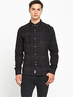bellfield-heathcliff-ls-check-shirt