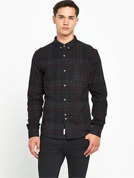 bellfield-heathcliff-ls-check-shirt