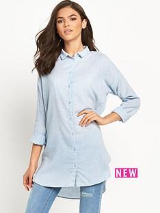 vila-vila-zla-chambray-long-shirt