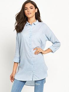 vila-zla-chambray-long-shirt