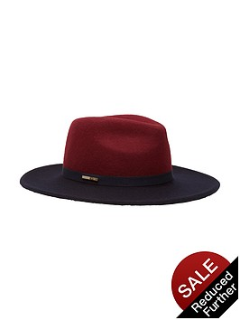ted-baker-colourblock-fedora