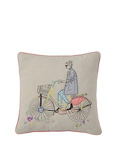 applique-detail-039girl-on-a-bike039-cushion