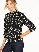 Floral Printed Bomber Jacket