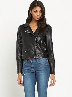 vero-moda-simone-short-pu-jacket-black