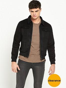 criminal-damage-niro-faux-suede-jacket