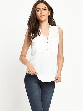 river-island-sleeveless-utility-blouse