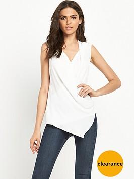 river-island-sleeveless-wrap-blouse
