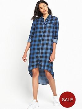 noisy-may-hailey-high-low-shirt-dress