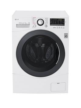lg-fh4a8fdh2n-96kgnbspload-1400-spin-washer-dryer-next-daynbspdelivery-white