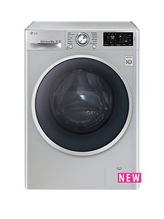 lg-f14u2tdn5-8kgnbspload-1400-spin-washing-machine-silver