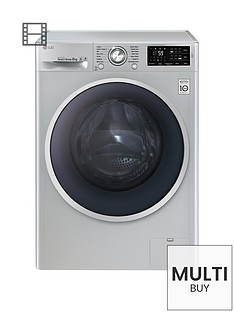 lg-f14u2tdn5-8kgnbspload-1400-spin-washing-machine-silver