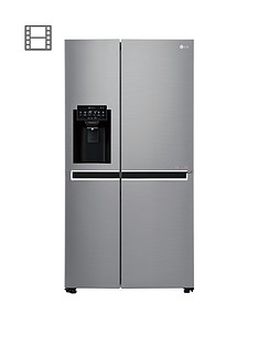 LG GSL761PZXV Non-Plumbed USA Style Fridge Freezer