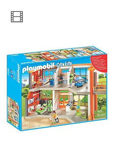 playmobil-6657-city-life-furnished-childrens-hospital