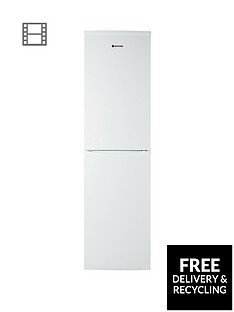 Hoover HFF195WK 55cm Frost Free Fridge Freezer - White