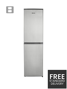 hoover-hff195xknbsp55cm-frost-free-fridge-freezer-stainless-steel