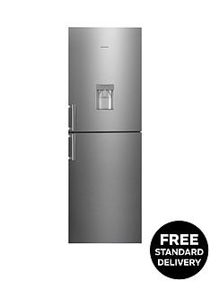 hoover-hvbn6182xwdknbsp60-cm-fridge-freezer-with-water-dispenser-stainless-steel