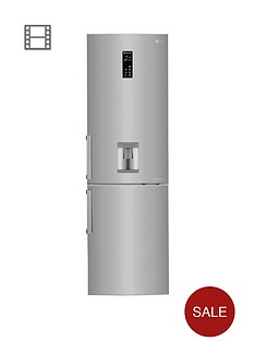 lg-gbf59pzkzb-60cm-no-frost-fridge-freezer-with-water-dispenser