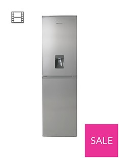 Hoover HFF195XWK 55cm Frost Free Fridge Freezer with Water Dispenser - Stainless Steel Best Price, Cheapest Prices
