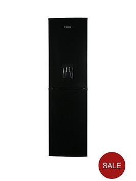hoover-hff195bwknbspfridge-freezer-with-water-dispenser-black