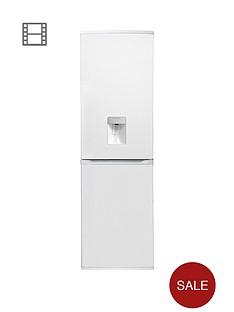 hoover-hff195wwknbsp55cmnbspfrost-free-fridge-freezer-with-water-dispenser-white