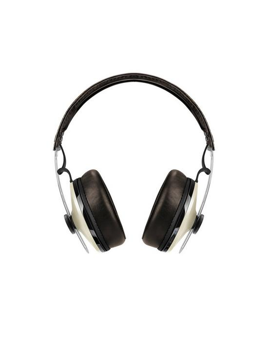 Momentum 2 0 Wireless Bluetooth Over-Ear Headphones for Apple IOS - Ivory