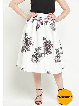 v-by-very-curve-floral-print-full-skirt