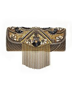 forever-unique-embellished-tassel-clutch-bag-gold