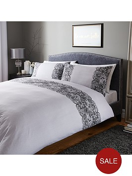 lace-print-duvet-set-greyblack