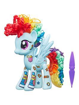 my-little-pony-my-little-pony-rainbow-dash-design-a-pony-playset