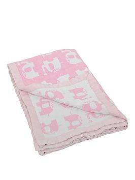 silvercloud-love-colour-jaquard-muslin-blankets--elephants