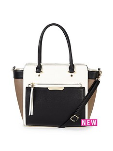 oasis-tilly-colour-block-tote